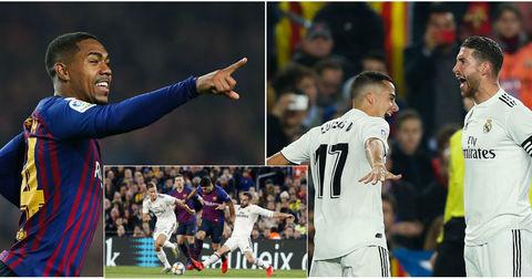Барселона Реал Мадрид насловна