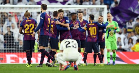 Барселона Реал Мадрид