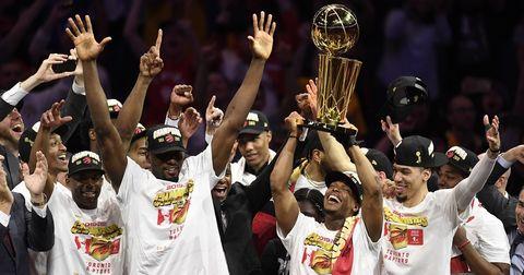 Торонто НБА шампиони