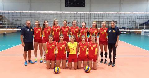 Македонија одбојка