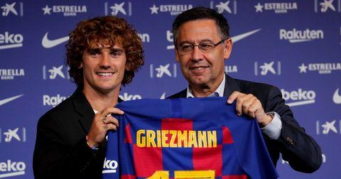 Антоан Гризман Барселона