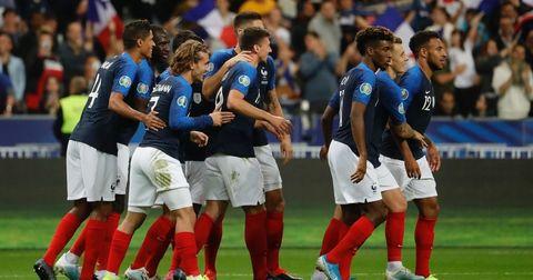 Франција список