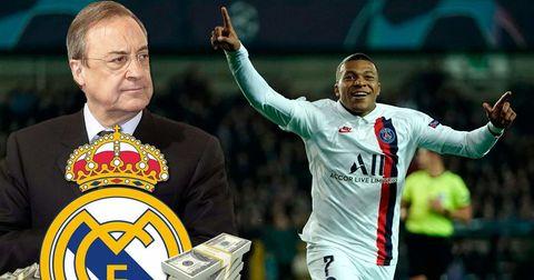 Мбапе Реал Мадрид
