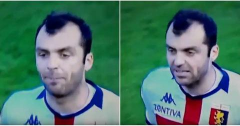 Горан Пандев реакција