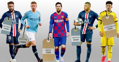 Највредни фудбалери