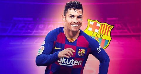 Роналдо Барселона