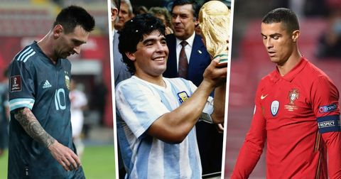 Марадона Меси Роналдо