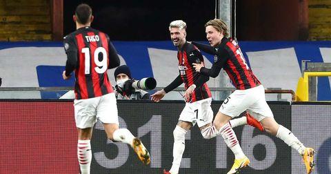 Милан победа