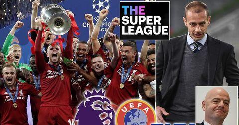 ФИФА УЕФА Суперлига