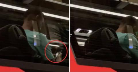 Роналдо автобус