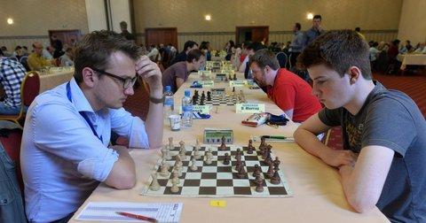 Шаховски натпревар на турнир на ШК Алкалоид