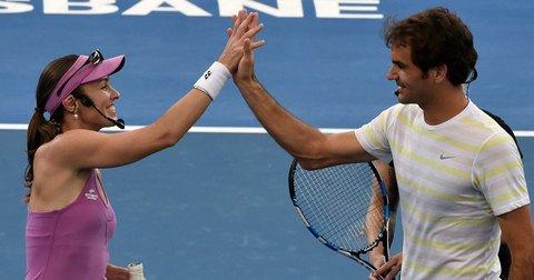 Федерер и Хингис ќе играат во мешани двојки во Рио