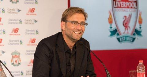 Јирген Клоп на прес-конференција во Ливерпул
