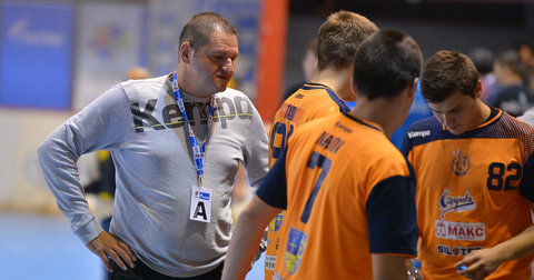 Марјан Андонов и неговите ракометари замислени на мечот со ППД Загреб