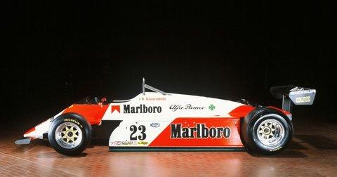 Болид на Алфа Ромео во Формула 1