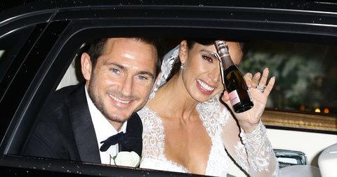 Лампард со неговата сопруга Кристина