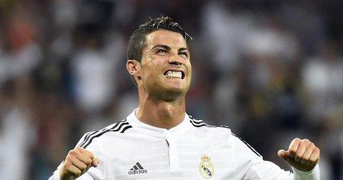 Кристијано Роналдо на мечот со Реал Сосиедад