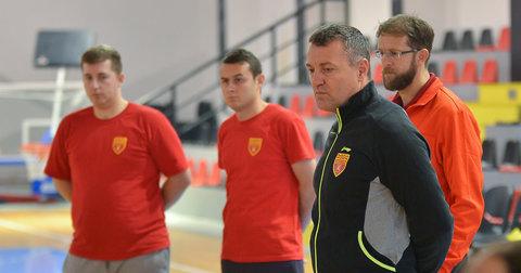 Селекторот Обрван и репрезентативците на Македонија