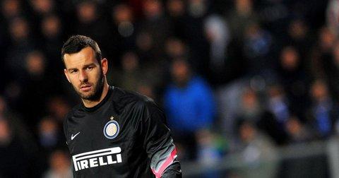 Самир Хандановиќ во дресот на Интер