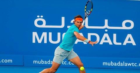 Надал на турнирот во Доха