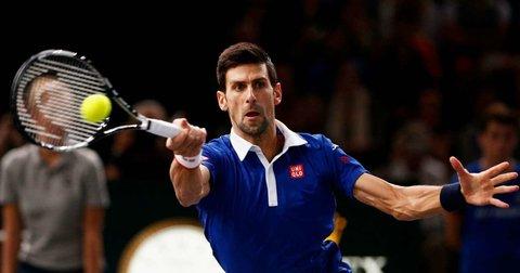 Новак Ѓоковиќ на турнирот во Доха
