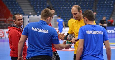 Македонските репрезентативци на тренинг