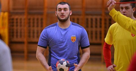 Жарко Пешевски на тренинг во Краков