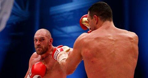 Фјури и Кличко во рингот
