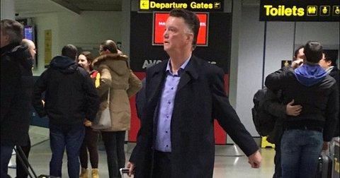 Ван Гал на аеродром