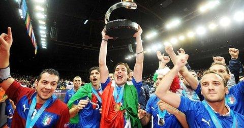 Италија шампион во футсал