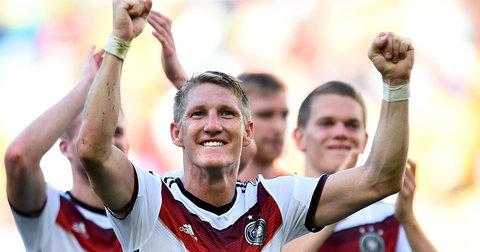 Швајнштајгер во дрес на германската фудбалска репрезентација