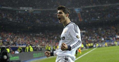 Алваро Мората во Реал Мадрид