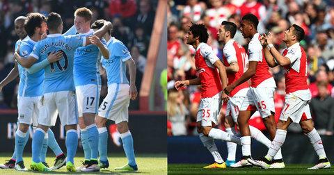 Манчестер Сити и Арсенал