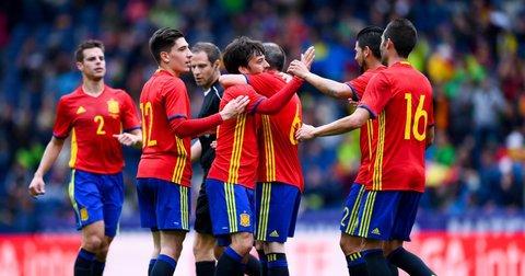 шпанска репрезентација пријателски натпревар