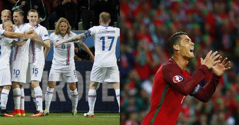 Исланд против Португалија