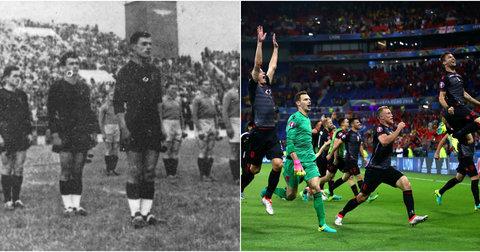 Албанија против Романија победа
