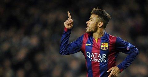 Нејмар во дресот на Барселона