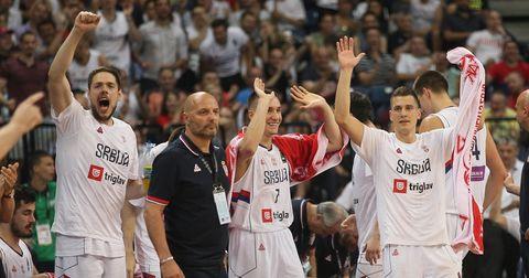Србија кошарка
