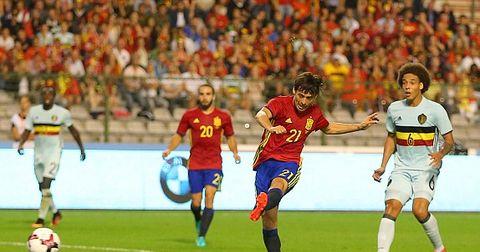 Давид Силва гол против Белгија