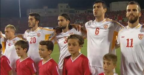 Македонија химна во Скадар
