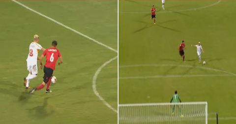 гол на Алиоски против Албанија