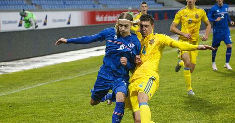 Украина против Исланд