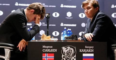 Карлсен и Кирјакин петта партија