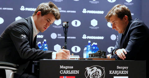 Карлсен против Карјакин