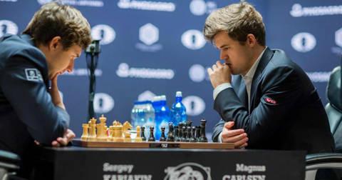 Карлсен и Кирјакин