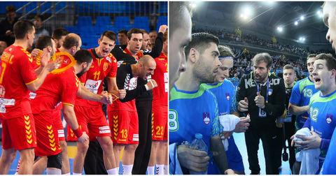 Македонија против Словенија