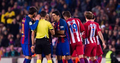 Атлетико Мадрид и Барселона