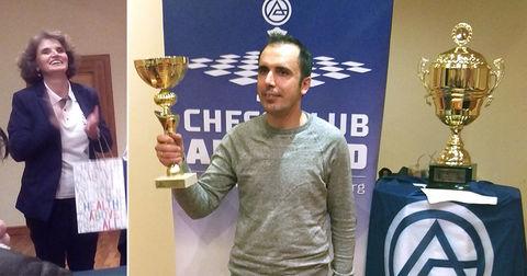 Петар Дренчев - шах Алкалоид