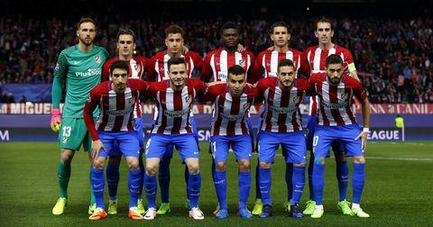 Атлетико Мадрид просек