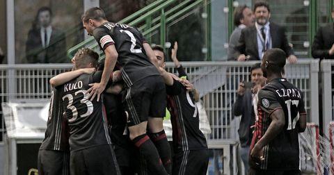 Милан против Палермо